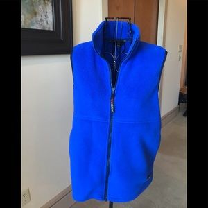 L. L. Bean Outdoors women's fleece vest